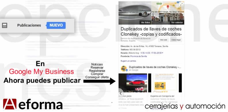 publica ofertas en google maps business gratis aeforma