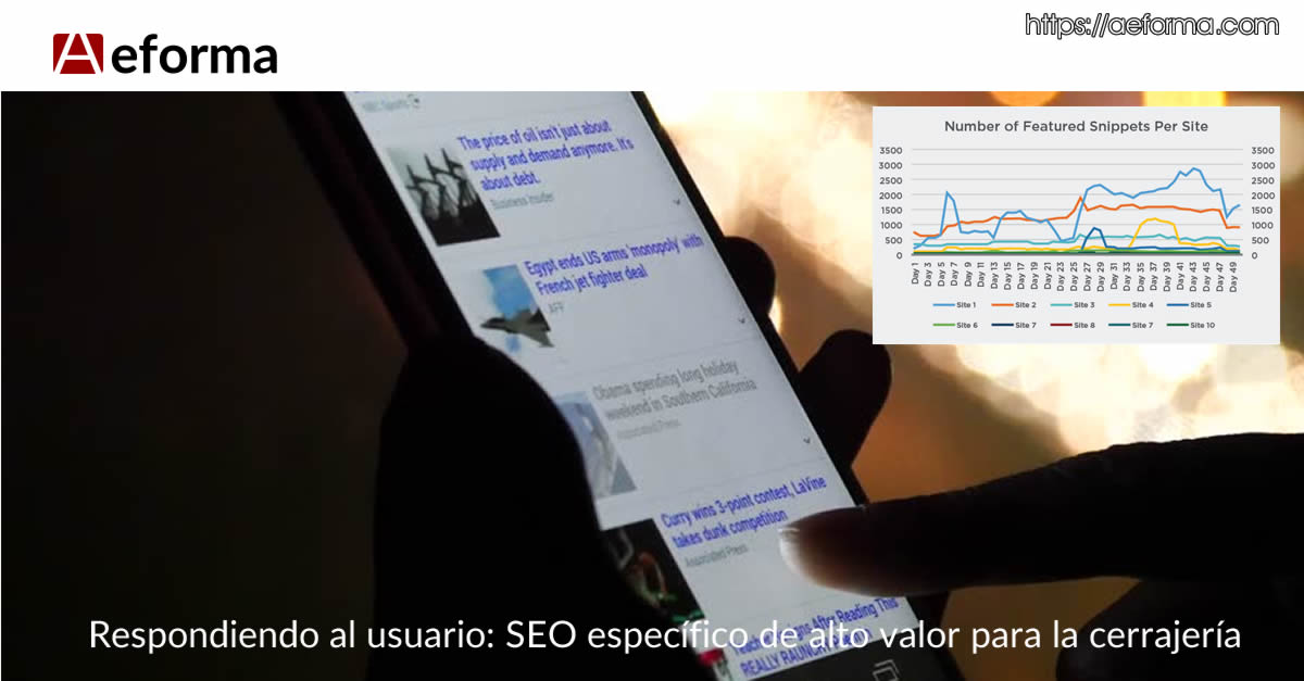 seo featured snippets cerrajeros con aeforma