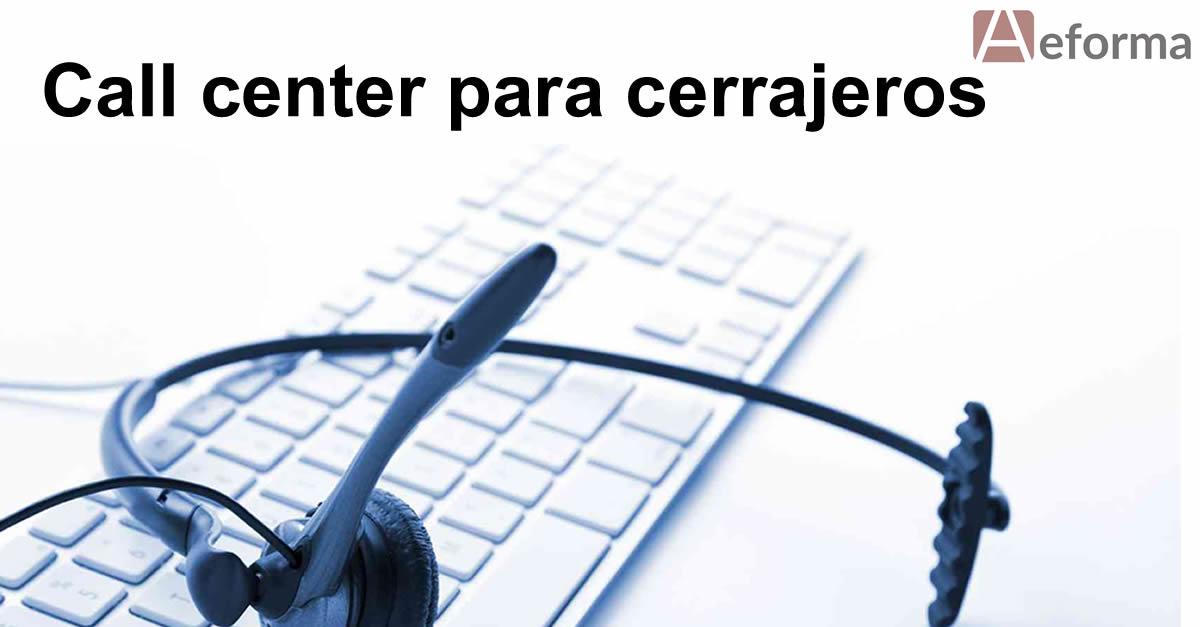 call center cerrajeros autocerrajeros aeforma