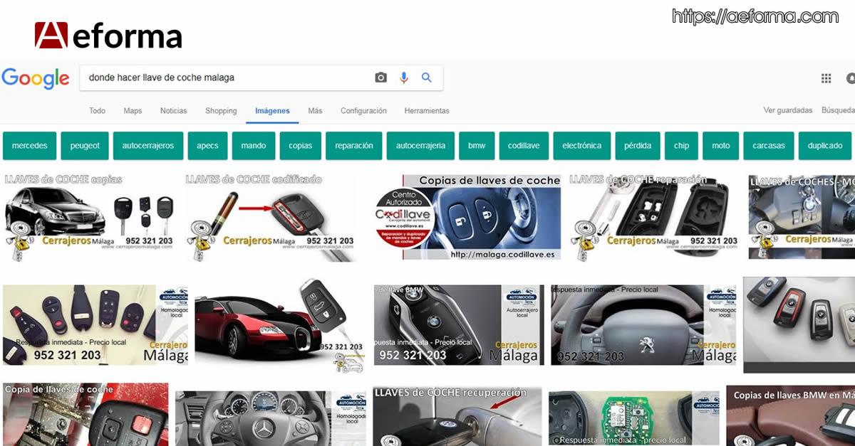 donde hacer llaves de coche google images seo cerrajeros con aeforma
