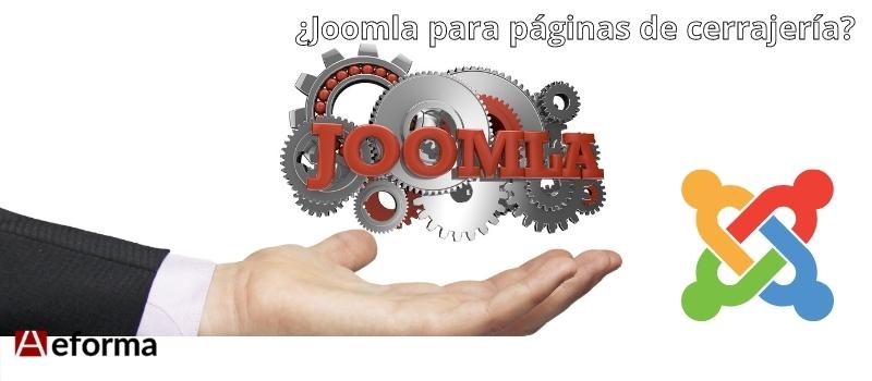 Joomla para paginas web de cerrajeria