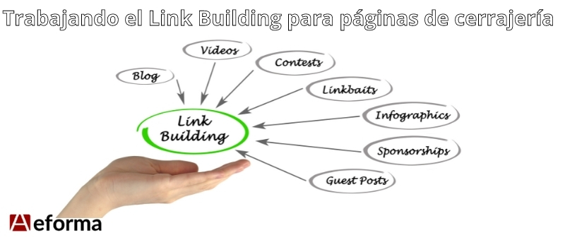 trabajando el link building en el sector de la cerrajeria