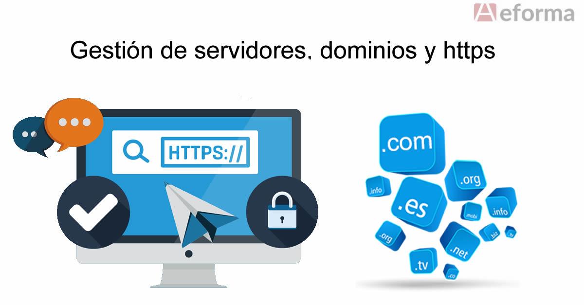 gestion servidores dominios https cerrajeros autocerrajeros